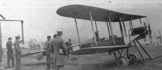 BE2 at Montrose Airfield